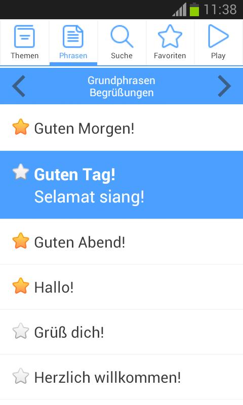Phrasebox Pro Der Vielsprachige Sprachführer Für Android