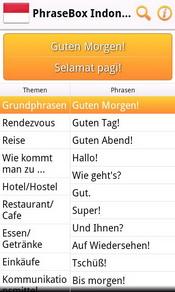 Phrasebox Indonesisch Sprachführer Für Android